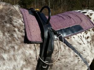 Die Safety Leine zum schnellen Lösen der elastischen Bänder